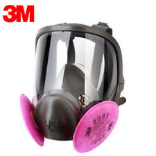 3M 6800 2091 3Pc Combination Spray paint Gas Mask Full Facepiece Respirator Mask