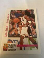 Michael Jordan 92-93 Hoops #341 Dream Team Card NearMint Condition Chicago Bulls