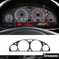 For BMW E46 M3 High quality Carbon Fiber Instrument Panel Screen Protective trim