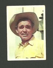 Clark Gable GWTW Scarce Movie Film Pop Music 1964 Spanish Cumbre Cigarette Card