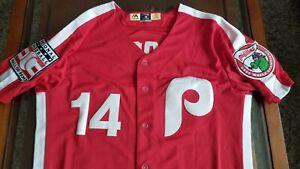 Philadelphia Phillies Pete Rose 1980 World Series Champs Jersey
