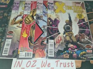 Secret Wars - X-tinction Agenda #1-4 (Marvel Comics, Warzones, 2015)
