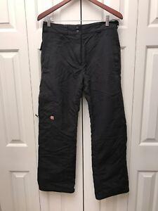 Columbia Waterproof Black Convert Women's Snow Pants Size M
