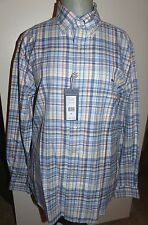 "VINEYARD VINES Men's Slim Tucker Shirt ""Summer Evening"" Plaid  Size MD  NWT"