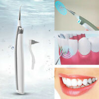 Electric Sonic Dental Calculus Plaque Remover Scaler Tooth Stains Clean Whitenin