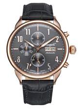 50 m (5 ATM) Mechanisch-(Automatisch) Armbanduhren mit Mineralglas