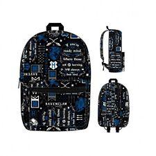 Harry Potter Icon Print Ravenclaw Wizard Movie Backpack Bag Bookbag BQ5M3CHPT