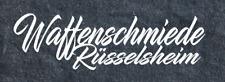 Aufkleber Waffenschmiede Rüsselsheim Auto Sticker Tuning JDM Decal OPC GSI Opel