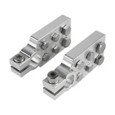 Marine Flat Battery Terminals Lead Blocks +/- 6061 Electrical Grade Aluminum