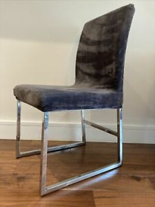 6 faux leather dining chairs With 6 Free Covers!