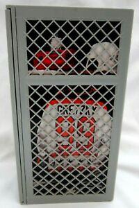 "Wayne Gretzky 7.625"" Replica Locker that holds sports cards!Oilers C GOAT HOF"
