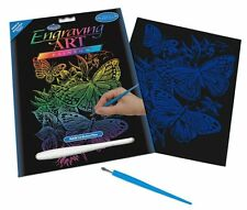 Engraving Art Set – Butterflies – Rainbow Foil by Royal and Langnickel