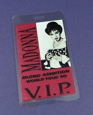 Madonna Original Backstage Pass - Blond Ambition Tour 1990- Unused Stock !