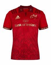 Munster Rugby Ireland Irish 2018 /2019 Shirt Jersey Red Player Issue Adidas 7 S