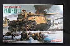YL072 DRAGON 1/35 maquette tank char 6027 Panzerkampfwagen Panther II WWII