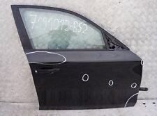 BMW SERIE 1 e87 e87n DOOR Anteriore Destro O/S Nero Sapphire Metallico - 475