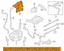 VW VOLKSWAGEN OEM 12-15 Passat Vapor Canister-Detection Pump 7L0906243