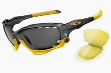 OAKLEY JAWBONE LIVESTRONG BLACK IRIDIUM & YELLOW  VENTED LENSES NEW IN BOX