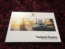 Porsche Panamera Tequipment Brochure 2017