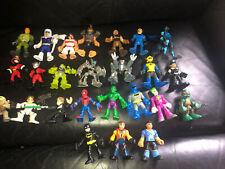 HUGE Lot 25 Imaginext Hasbro Playskool Heroes DC  Marvel Star Wars Transformers