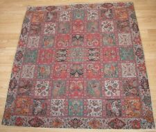 Persian Woven Tapestry Fine Art Silk Termeh Rug Design Tablecloth Wall Hanging