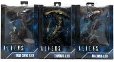 Set 3 NECA  Aliens Action Figures Arachnoid Chrysalis Razor Claws Reel Toys NEW