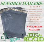 Eco-Friendly Poly Mailer Envelopes by Sensible Mailers 100% Recycled Material