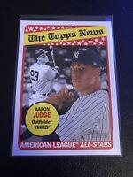 Lot Of 25 New York Yankees + Aaron Judge 2018 Topps Heritage  #278