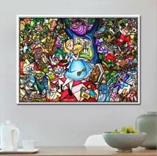 UK Color Girl Full Drill 5D Diamond Embroidery Painting Cross Stitch Kit Decor
