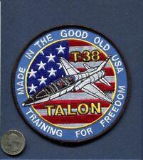 NORTHROP T-38 TALON PILOT TRAINING USAF NASA FOREIGN Squadron Patch