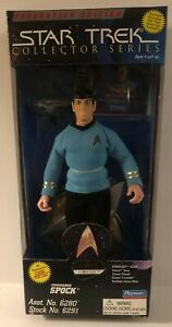"Star Trek Collector Series Federation Edition Commander SPOCK 9"" Playmates 1995"