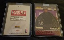 Marvin Bagley III - 2018/19 Panini Instant NBA Draft #2 Pick Kings RC PR 537