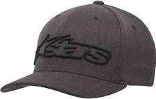 Alpinestars Blaze Flexfit Hat-Dark Grey/Black-L/XL  Mens 1039-81005-1751-L/XL