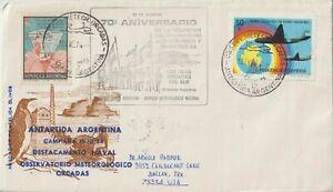 1973/74 ARGENTINA ANTARCTICA NAVAL HIGHLIGHT ORCADAS METEOROLOGICAL OBSERVATORY
