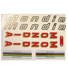 Swiss Mondia decal  set - for Campagnolo bike  New!