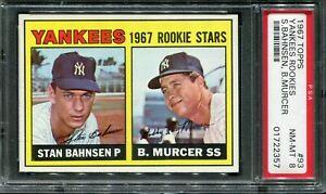 1967 Topps #93 Bobby Murcer Rookie! PSA 8 NM-MT