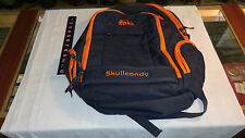 Skull Candy Ink BackPack With LapTop Sleeves Blue/Orange