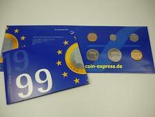 *** NIEDERLANDE GULDEN KMS 1999 BU Holland Netherlands vor Euro Münzen Coin Set