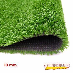 Prato sintetico da 10 mm erboso calpestabile  esterno e interno moquette Nuovo