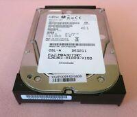 """Fujitsu Enterprise MBA3073RC CA06778-B13700FS 73.5GB 15000RPM SAS 16MB 3.5"""" HDD"""