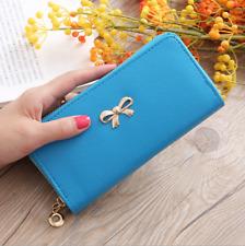 Hot Sale Fashion Women Embossed Long Wallet Handbag Leather Cards Clutch Holder
