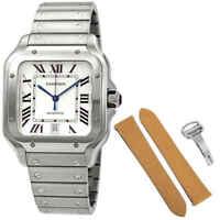 Cartier Santos De Cartier Large Automatic Men's Watch WSSA0009