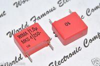 10pcs - WIMA MKS4 1uF (1µF) 250V 10% pich:15mm Polyester Capacitor