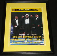 Don King Mike Tyson & Muhammad Ali Framed 11x14 Photo Display