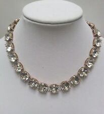 NWT J Crew Crystal Statement Necklace