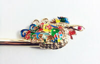 BINYEO HANBOK Rainbow Bird Hair pin Stick band dress party Korean girl Chinese