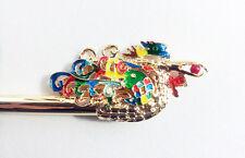 Korean girl Chinese BINYEO HANBOK Rainbow Bird Hair pin Stick band dress party