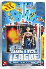 "Justice League Unlimited PLANET PATROL WONDER WOMAN 4.5"" Figure Mattel 2005"