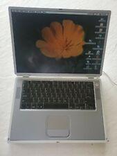 Apple PowerBook G4 Titanium 500MHz, 512MB Ram, 20GB HDD, Mac OS 9.1.1. WORKING
