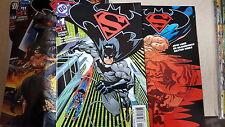 Batman superman Comic Lot 1-61 (out of 87) VF+-NM bagged